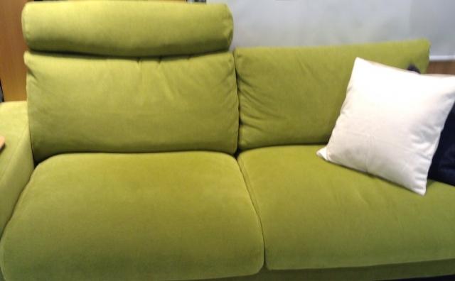 布のソファの手入れ